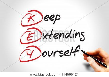 Keep Extending Yourself