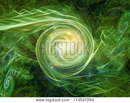 Spiral Backdrop