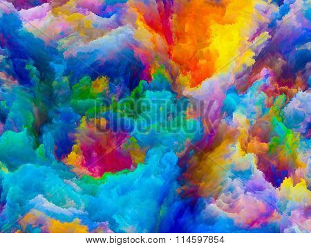Unfolding Of Colors