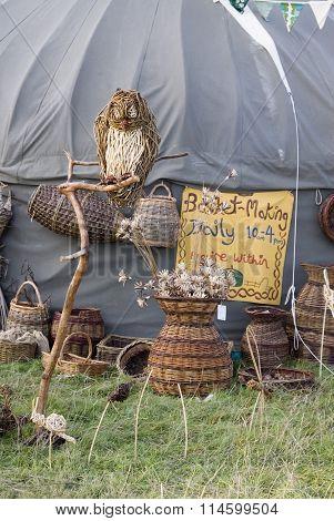 The Green Gathering : Basket Making