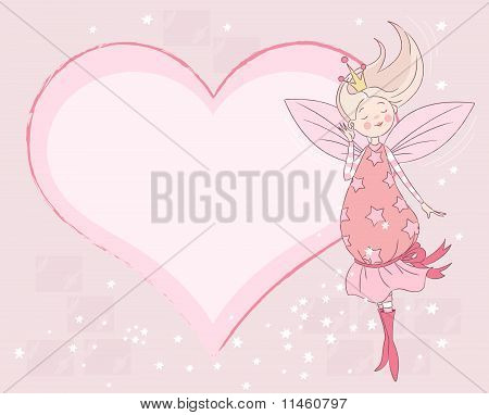 Princess Fairy Place Card