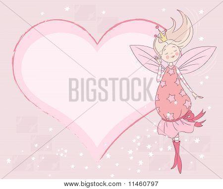 Princess Fairy Place Card