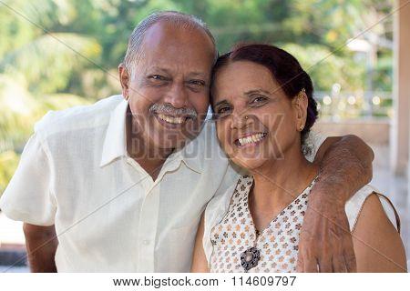 Happy Old Couple