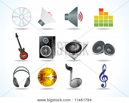 Abstract Audio Icons