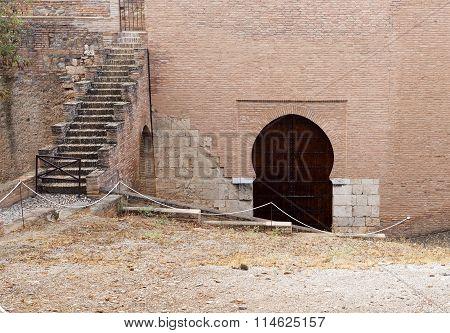 Alhambra Mudejar Door