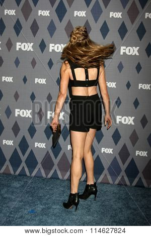 LOS ANGELES - JAN 15:  Christina Moore at the FOX Winter TCA 2016 All-Star Party at the Langham Huntington Hotel on January 15, 2016 in Pasadena, CA