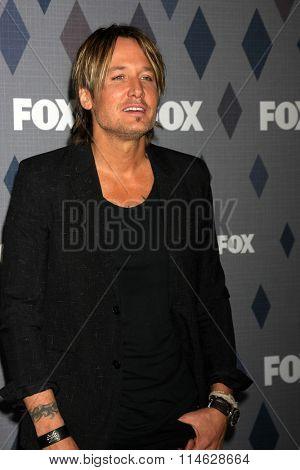 LOS ANGELES - JAN 15:  Keith Urban at the FOX Winter TCA 2016 All-Star Party at the Langham Huntington Hotel on January 15, 2016 in Pasadena, CA
