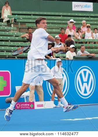 Pablo Carreno Busta at Kooyong