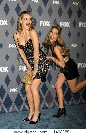 LOS ANGELES - JAN 15:  Missi Pyle, Christina Moore at the FOX Winter TCA 2016 All-Star Party at the Langham Huntington Hotel on January 15, 2016 in Pasadena, CA
