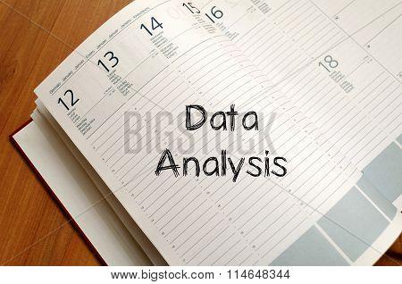 Data Analysis Write On Notebook