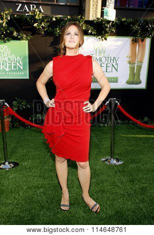 LOS ANGELES, CALIFORNIA - August 6, 2012. Jennifer Garner at the Los Angeles premiere of 'The Odd Life Of Timothy Green' held at the El Capitan Theater, Los Angeles.