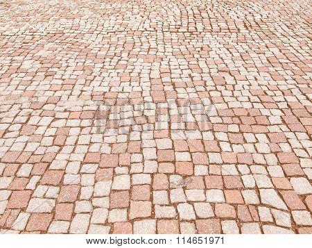 Retro Looking Stone Floor