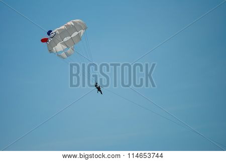 Flying High On The Parachute
