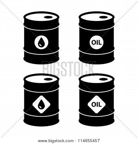 Oil Barrel Icons
