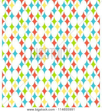 Seamless bright vertical abstract pattern