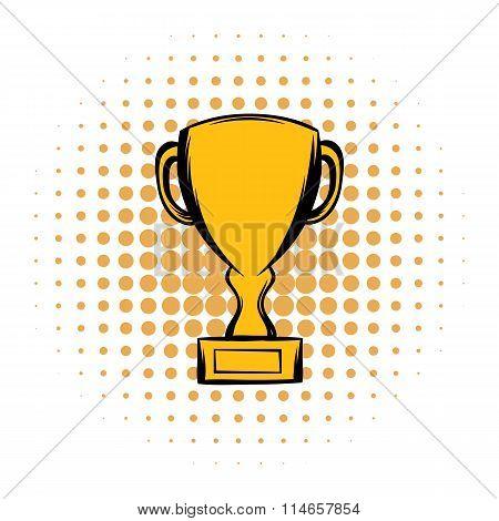 Prize cup comics icon