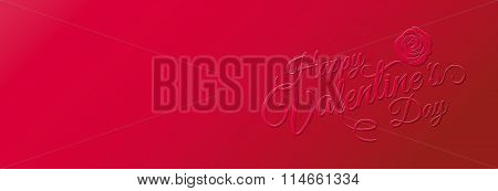 Valentines Day, Love, Banner Design, Background & Texture