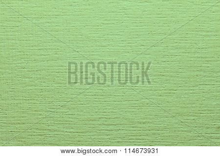 Green non-woven wallpaper for painting. Beautiful background design texture.