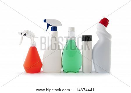 Plastic Packaging For Household Chemicals..