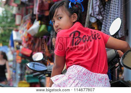 Child in Bali