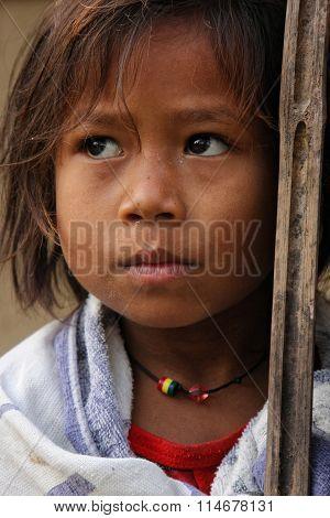 A Nepali Girl Portrait