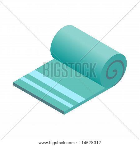 Towel isometric 3d icon
