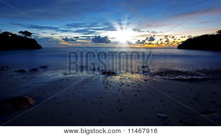 Sunset Curacao