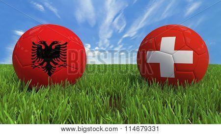 Albania - Switzerland