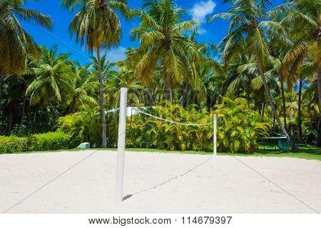 Beach Playground Volleyball