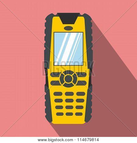 Mobile phone flat icon