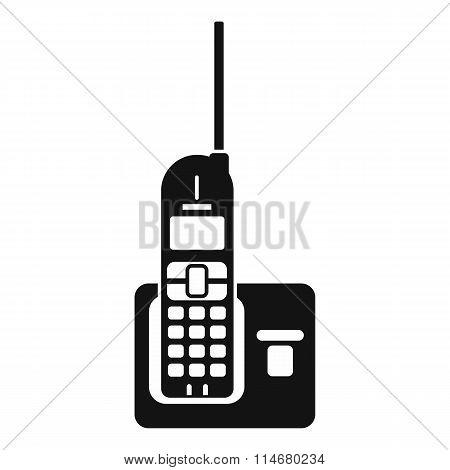 Wireless phone with antenna