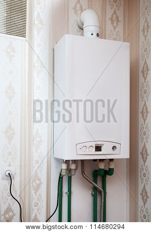 Boiler On The Wall
