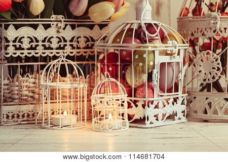 The Easter Birdcage
