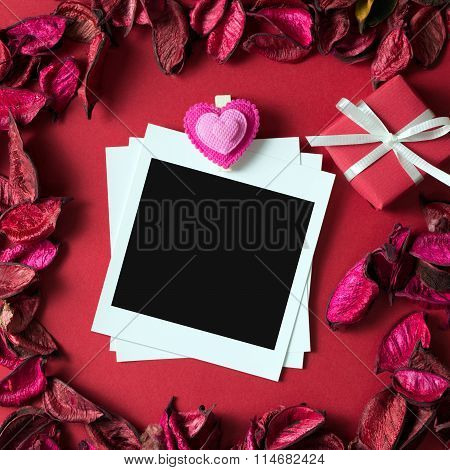 Photo Frame For Valentine's Theme