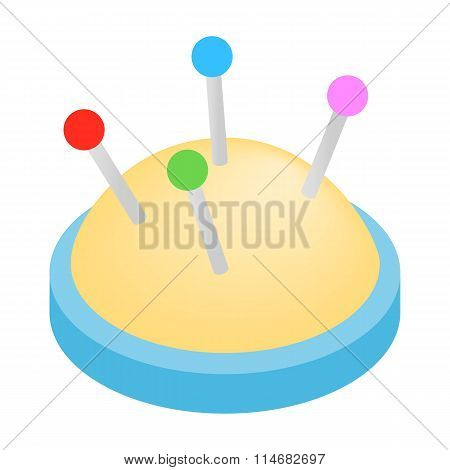 Studs isometric 3d icon
