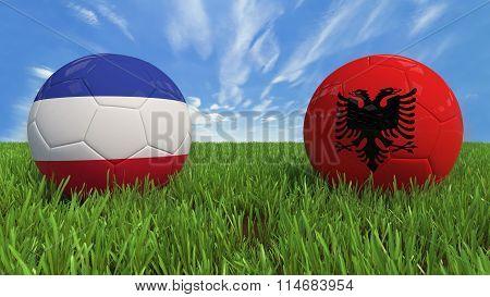 France - Albania