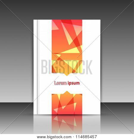 Orange Brochure Title Sheet