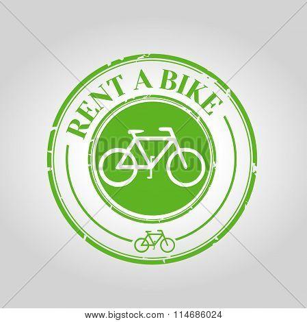 Rent a bike icon