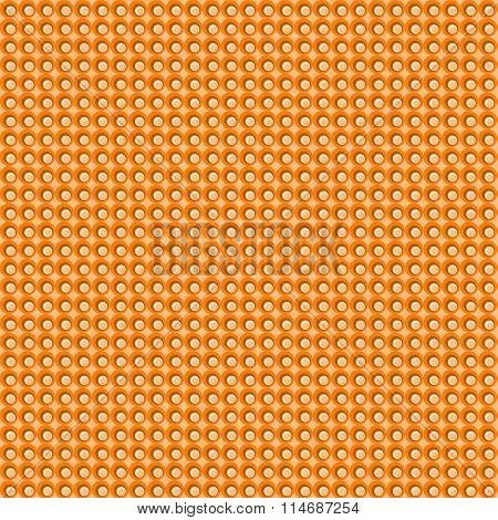 Orange Tint Mosaic Dots Seamless Background