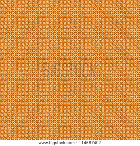 Beige And Orange Geometric Seamless Background