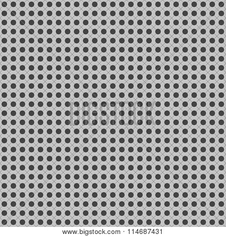 Abstract Simple Seamless Background With Grey Dots