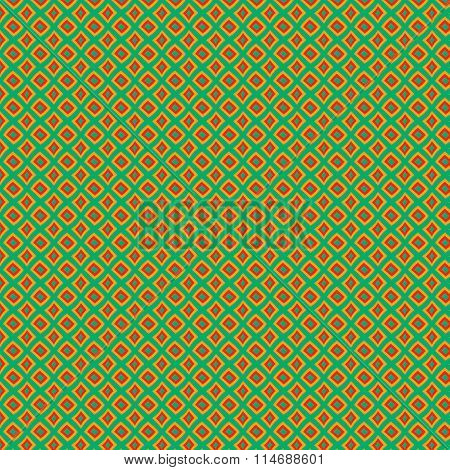 Distorted Squares Seamless Background