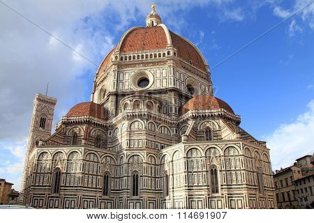 Cathedral Of Santa Maria Del Fiore, Florence, Italy.