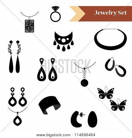 Jewelry Set Black