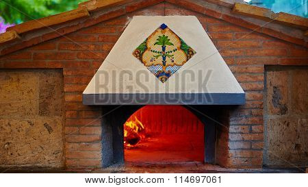 traditional oven for cooking.