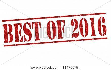 Best Of 2016 Stamp