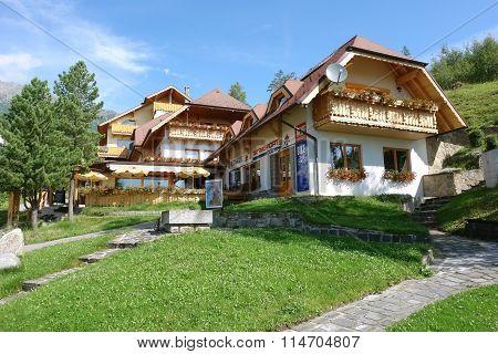 Shops Of Smokovec In Slovakia.