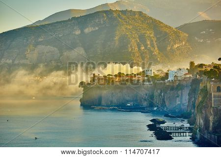 Sorrento is expensive and most beautiful European resort.