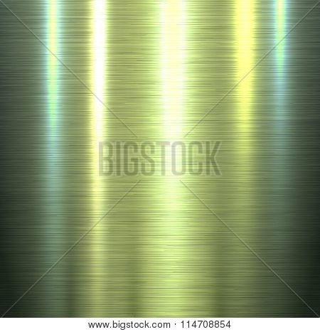 Metal texture background, shiny brushed metallic texture plate, vector illustration.