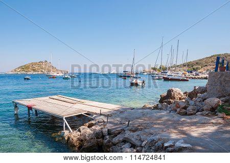 Agios Nikolaos Port On Zakynthos